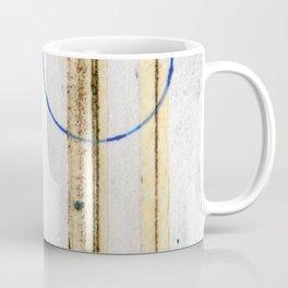 Polish Lines Abstract Collage Coffee Mug