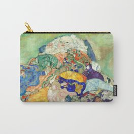 """Gustav Klimt """"Baby (Cradle)"""" Carry-All Pouch"""