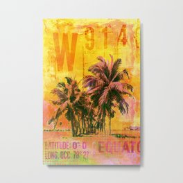 Get The Tropical Vibe Metal Print