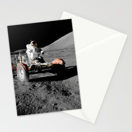 Apollo 17 - Moon Buggy Stationery Cards