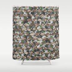 CUBOUFLAGE MULTI Shower Curtain
