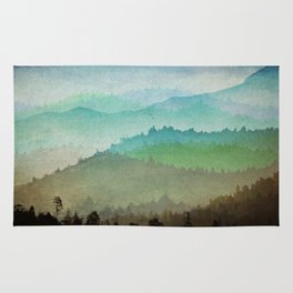 Watercolor Hills Rug