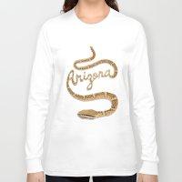 arizona Long Sleeve T-shirts featuring Arizona by Santiago Uceda