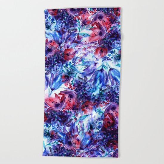 Wildflowers Beach Towel