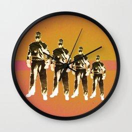 - man machine - Wall Clock