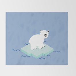Snow Buddy Throw Blanket