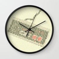 code Wall Clocks featuring Konami Code by Robotic Ewe