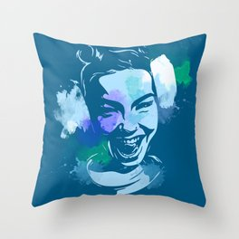 Bjork Throw Pillow