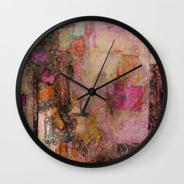 [dgD] Heart (gold) Wall Clock