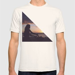 a bicycle rider T-shirt