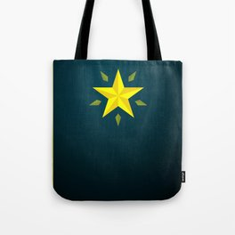 Gold Star/ Blue Tote Bag