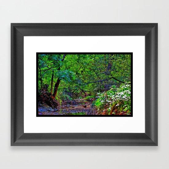 North America Framed Art Print