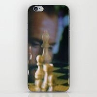 chess iPhone & iPod Skins featuring CHESS by Sebastián Nieto