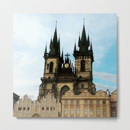 Church of Our Lady before Tyn, Prague, Czech Republic Metal Print