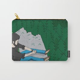 Looking over the mountains Carry-All Pouch