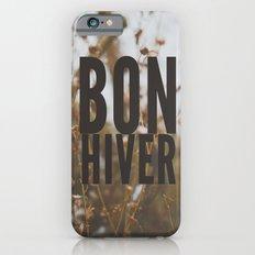 bon hiver. Slim Case iPhone 6s