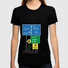 Mordor city limits T-shirt