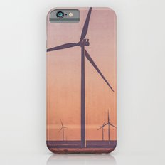 Route 66 Road Trip - Windmills at Dawn Midpoint Adrian TX iPhone 6s Slim Case