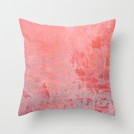 Pinky Pink Throw Pillow