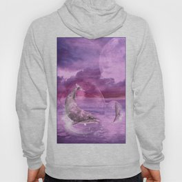 Dream Of Dolphins Hoody