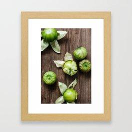 Tomatillos Framed Art Print