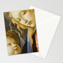 Madonna and Child Renaissance Religious art Stationery Cards