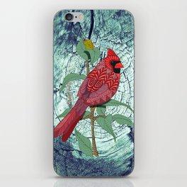 Virginia Cardinal iPhone Skin