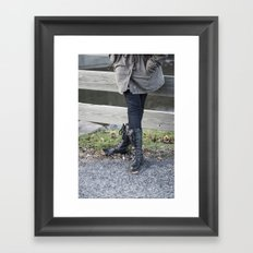 Chill Framed Art Print