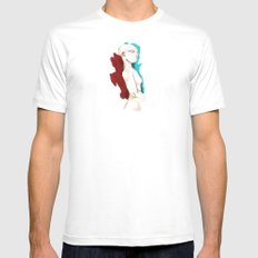 enigmatic Mens Fitted Tee MEDIUM White