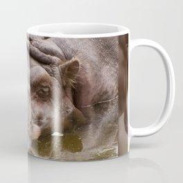 Huge bored Hippopotamus Coffee Mug