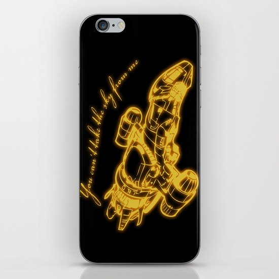Can't take the sky from me iPhone & iPod Skin