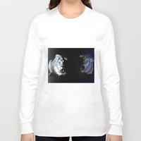 lions Long Sleeve T-shirts featuring Lions' choir by Eric Bassika