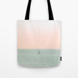 Sky Blush x Ocean Art Tote Bag
