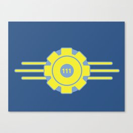 Vault 111 Canvas Print