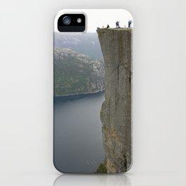 Preikestolen, Norway iPhone Case