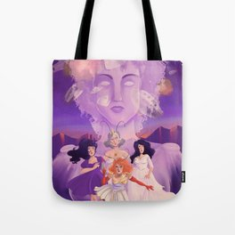 Lesbian Pirates From Outer Space in Fallen Gods Cover Tote Bag