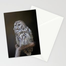 Lovely cute owl Stationery Cards