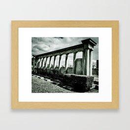 Pillared Framed Art Print