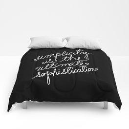 Simplicity Comforters