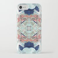 hokusai iPhone & iPod Cases featuring Hokusai Mandala by PatriciaRoberta