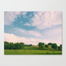Tennessee Fields Canvas Print