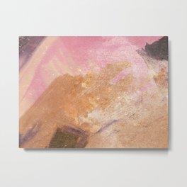Planetary Pink Metal Print