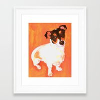 jack white Framed Art Prints featuring Jack by Loulure