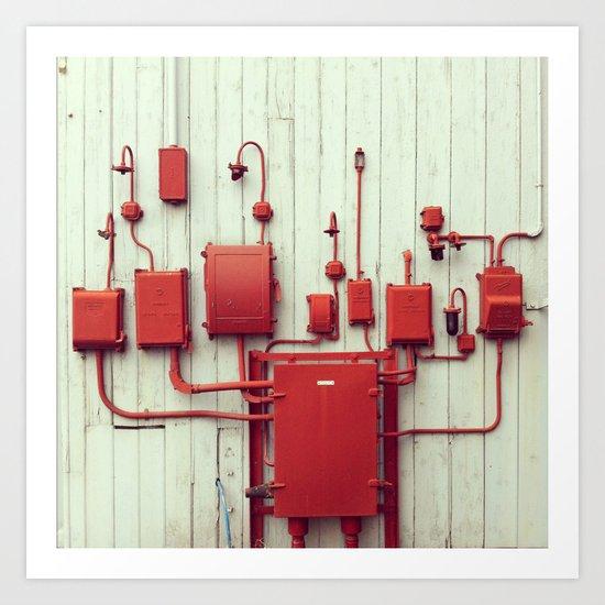 Red Things Art Print