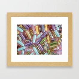 Take a Chill Pill Framed Art Print