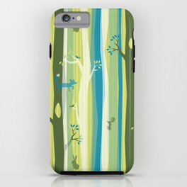 Woodland Stripe iPhone Case