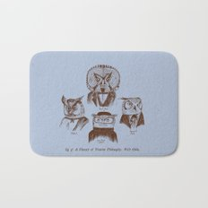 A History of Western Philosophy. With Owls. Bath Mat