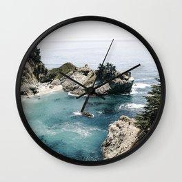 Mcway Falls Faded Wall Clock