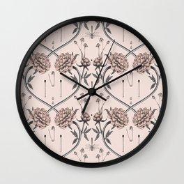 Tiny garden secrets Wall Clock