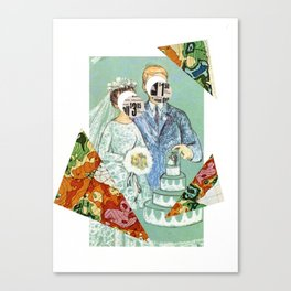 A marriage made in retail... Canvas Print